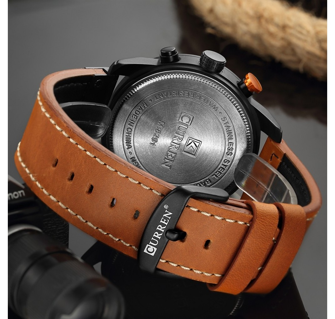 CURRENChronographmodel8291Cognac-01