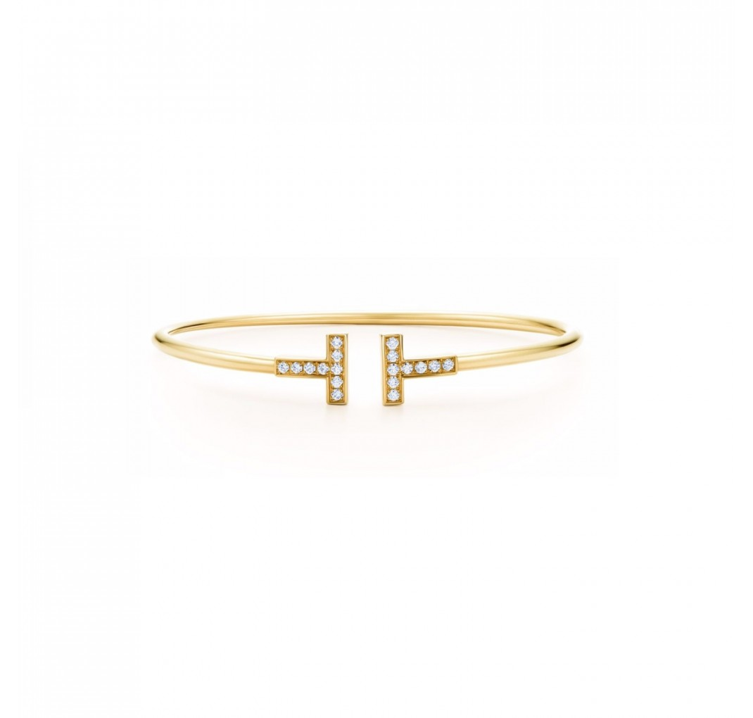 DAISY CRYSTAL BANGLE GOLD
