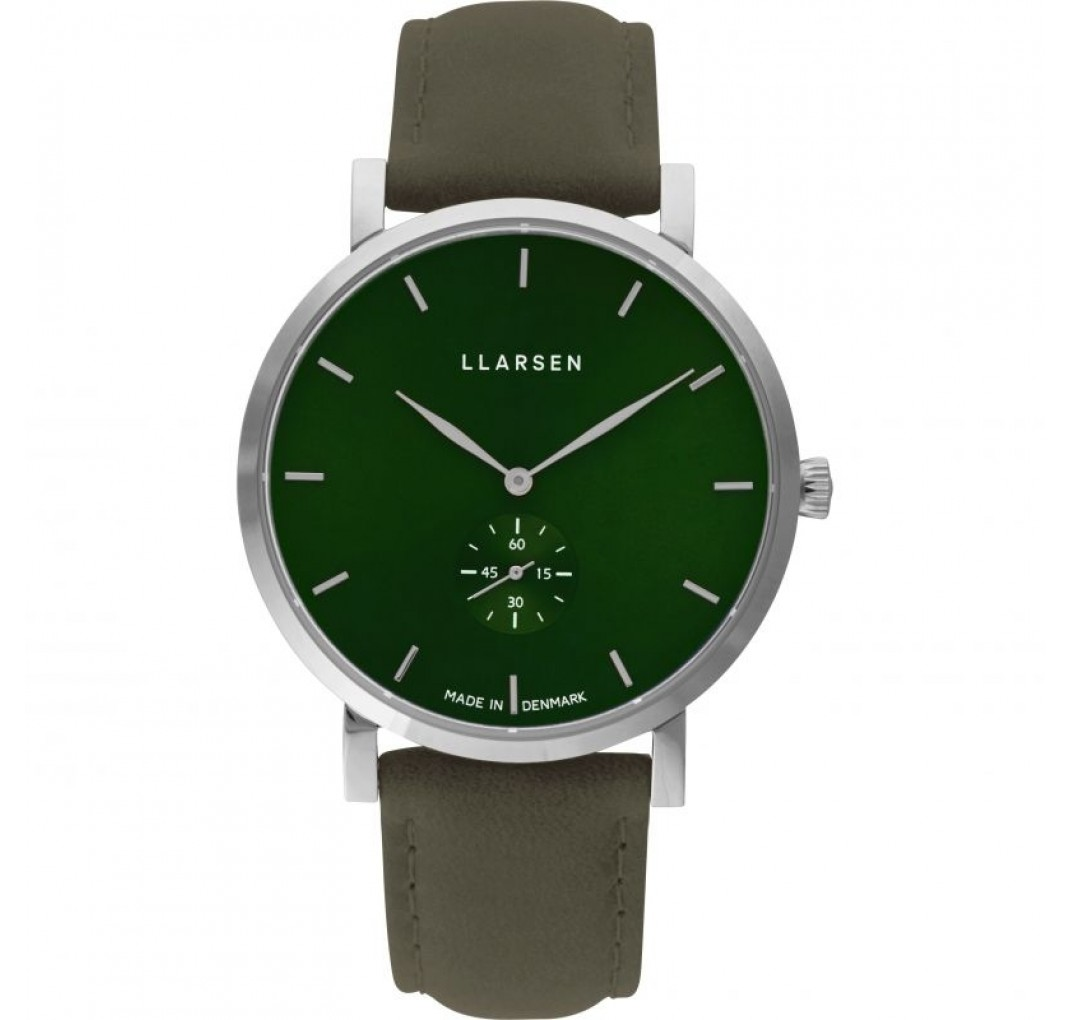 LLARSEN NIKOLAJ Steel Forest Leather