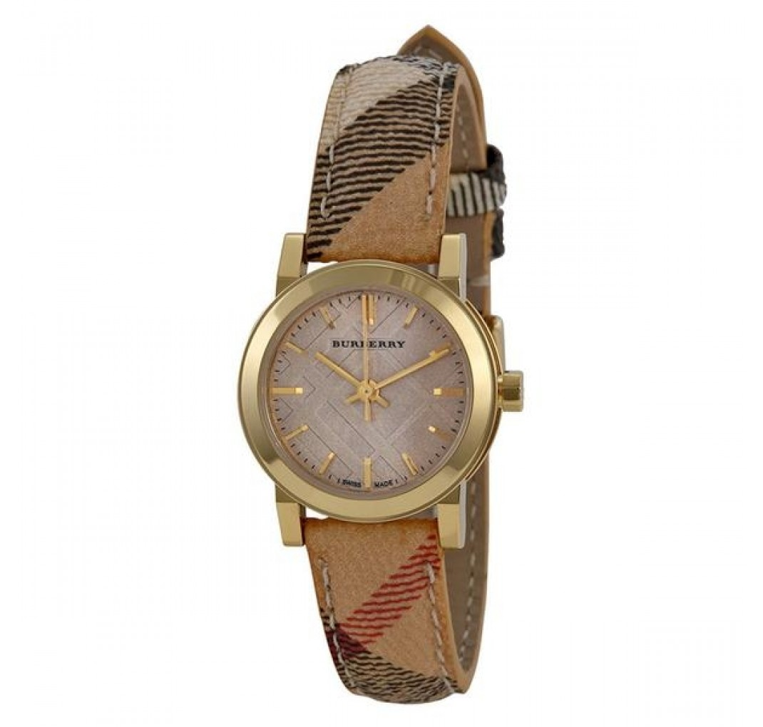 "BURBERRY ""The City"" Nova Gold BU9219"
