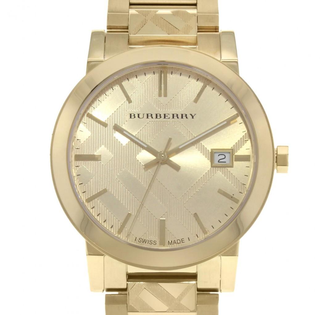 "BURBERRY ""The City"" Gold BU9038"