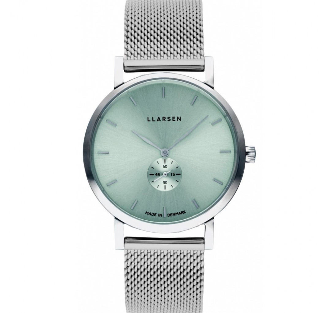 LLARSEN JOSEPHINE Steel Watch Shine Green