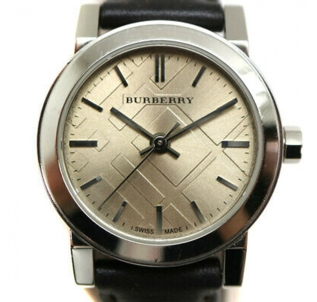 "BURBERRY ""The City"" Brown Leather BU9208"