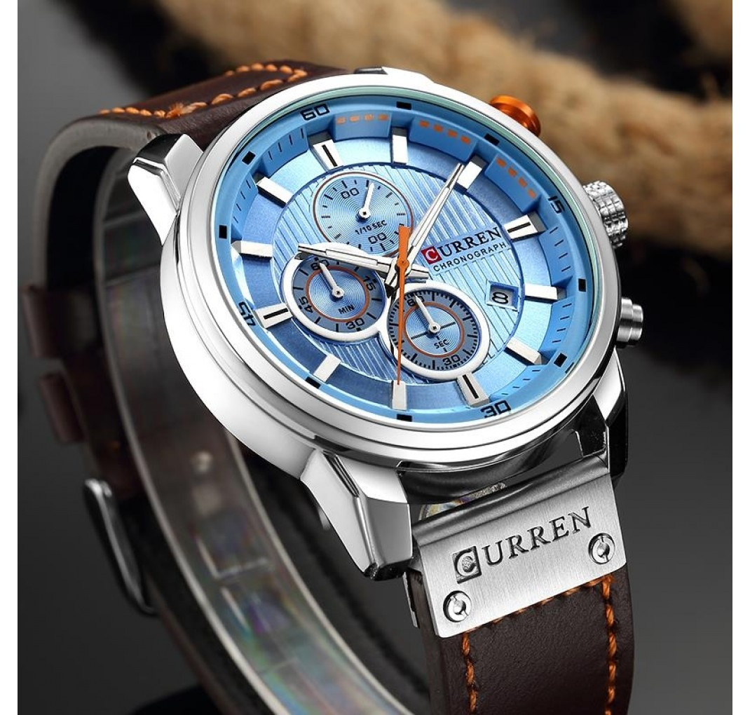CURRENChronographmodel8291Blue-01