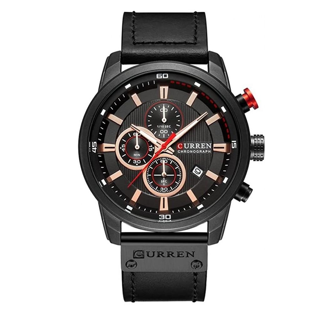 CURREN Chronograph model 8291 Black