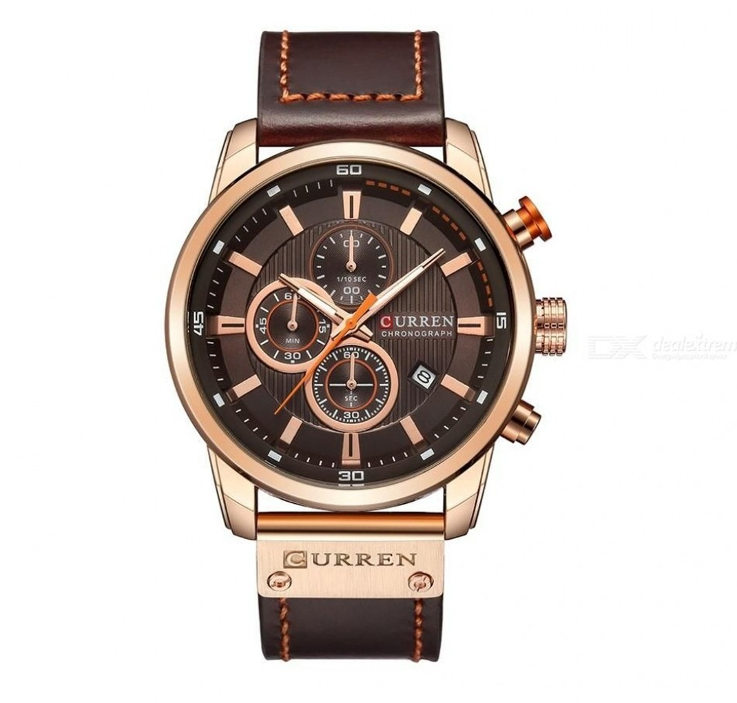 CURREN Chronograph model 8291 Wood