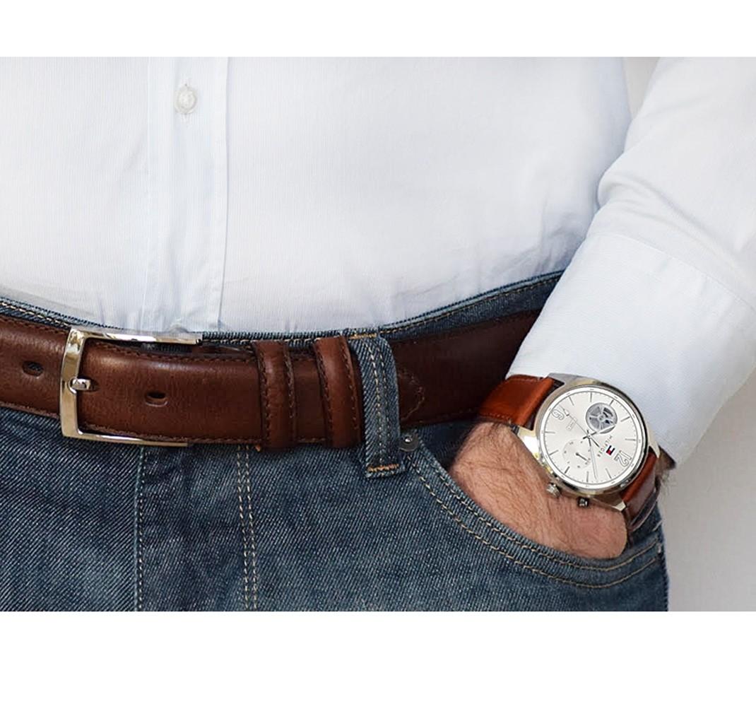Tommy Deacon gavesæt - ur & bælte