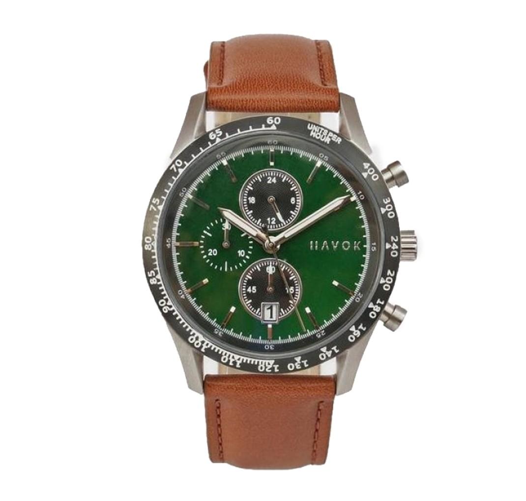 Elliot Havok Racer Cronograf green