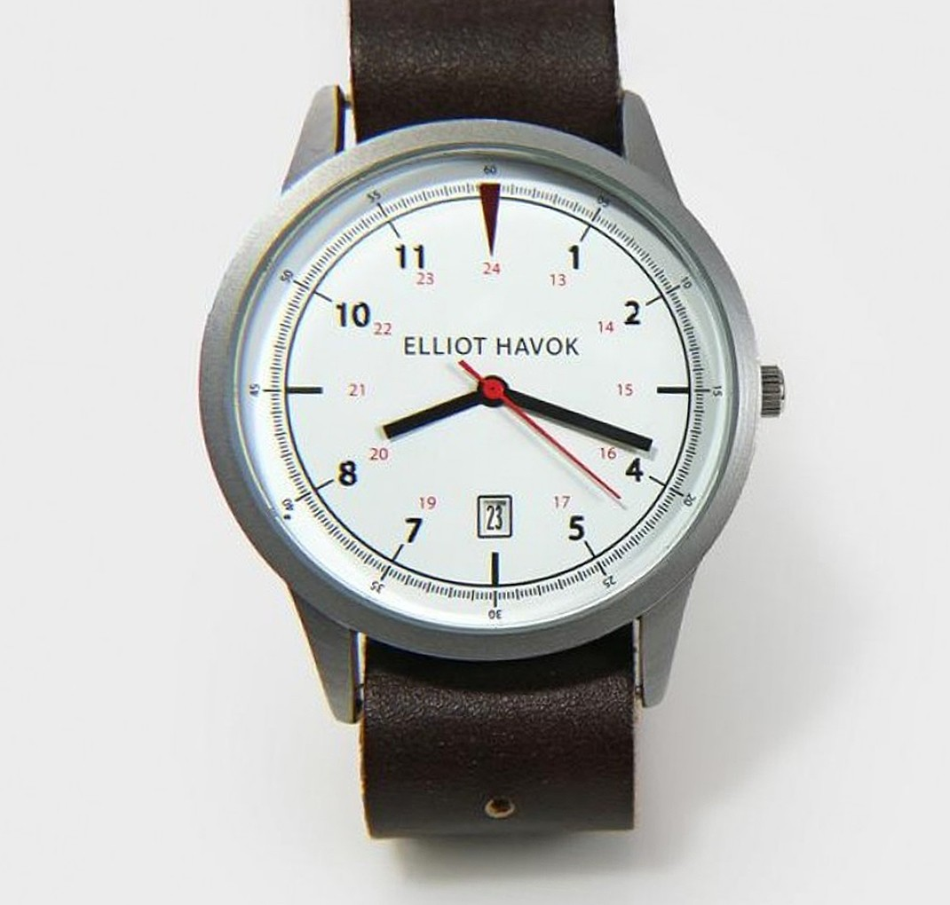 Elliot Havok Timepiece Classic White