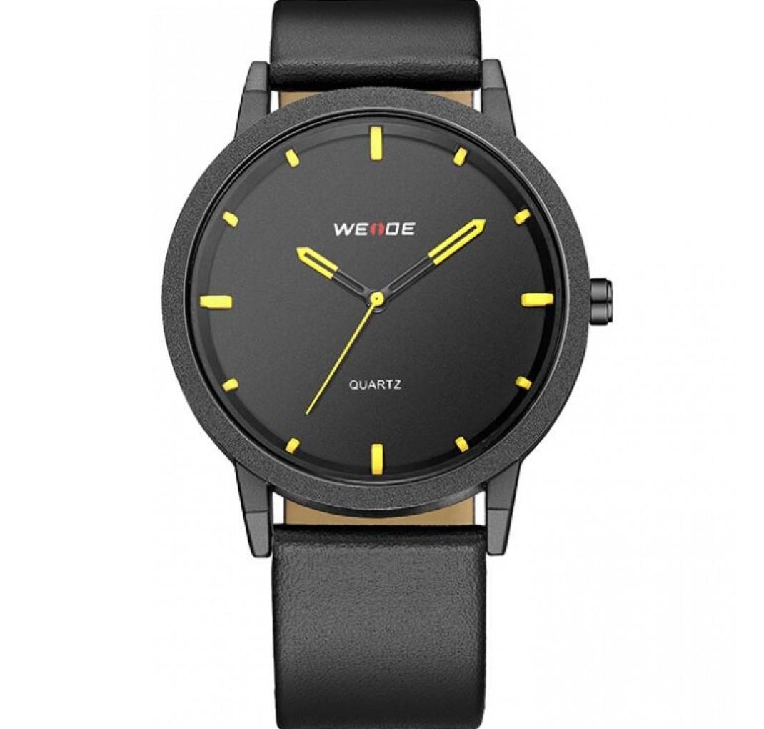 WEIDE YELLOW Minimalistisk Japansk designet ur