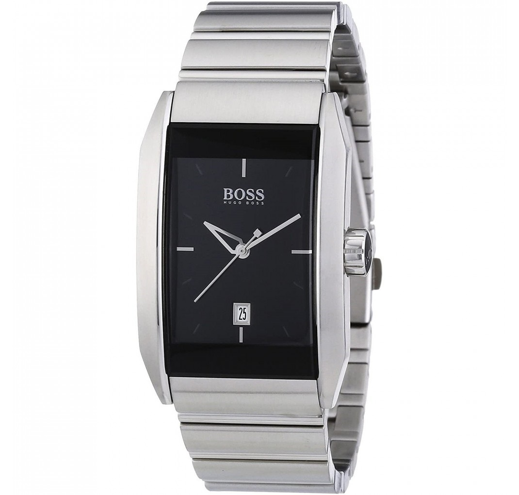 HUGO BOSS Slim Silver Watch