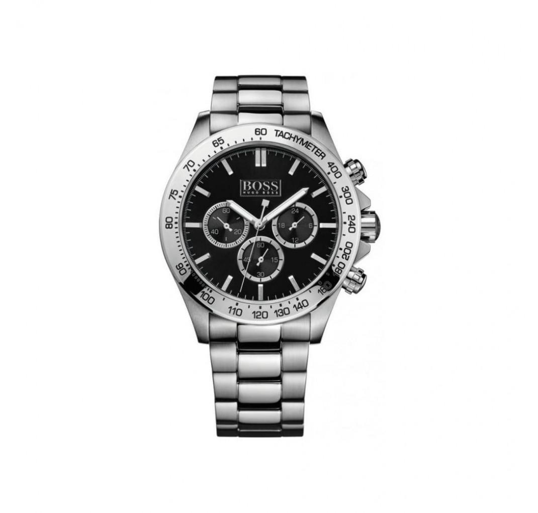 HUGO BOSS Ikon Steel Black Watch HB1512965
