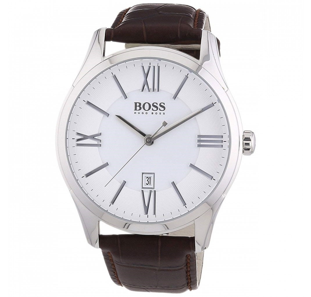 HUGO BOSS Ambassador White Watch