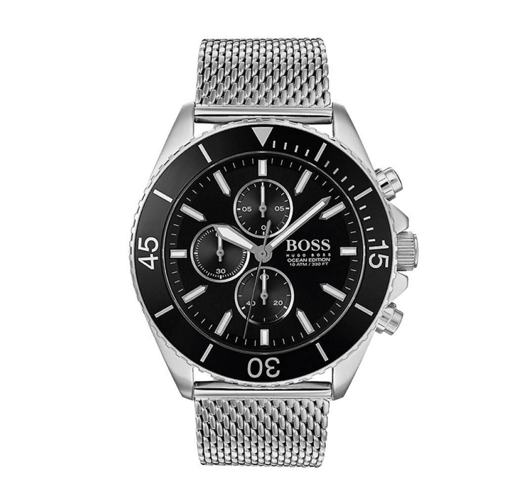 HUGO BOSS Ocean Steel Watch