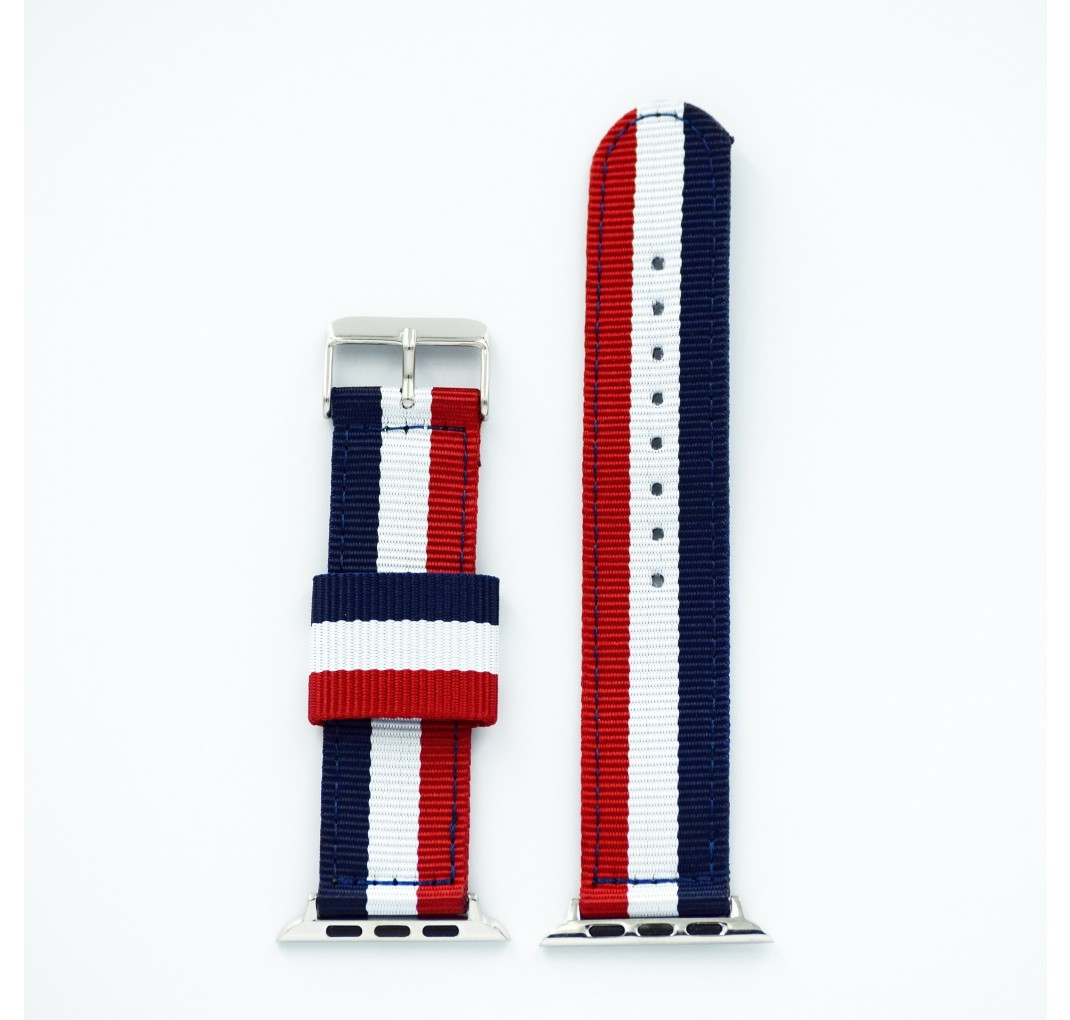 "Apple Watch Rød/hvid/blå ""London"" 38/40 mm"