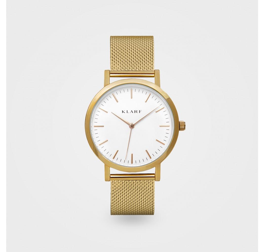 KLARF CLASSIC WHITE & GOLD