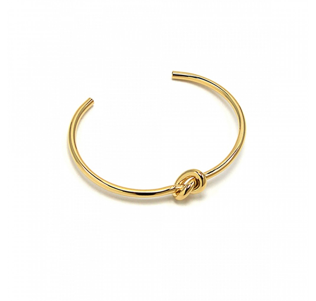 JOLIE KNOT BANGLE GOLD