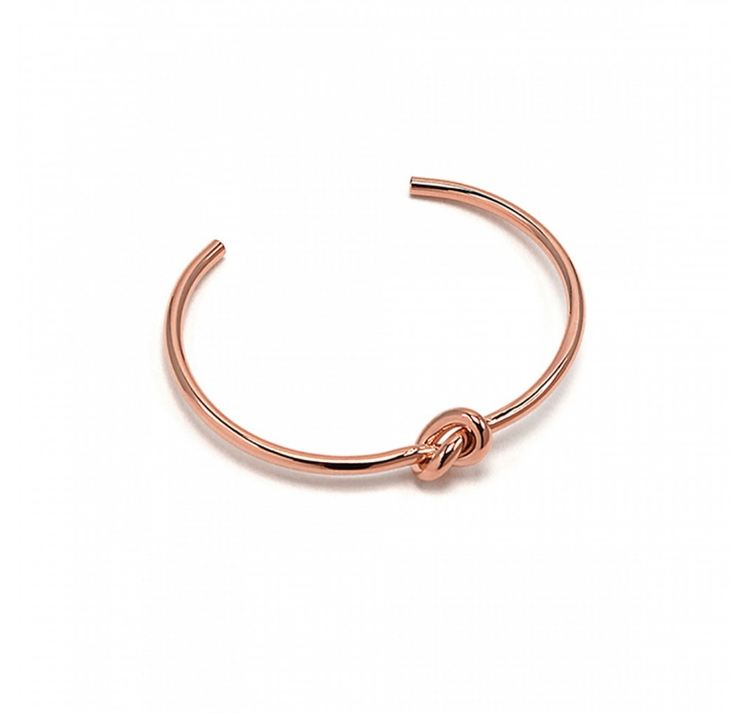 JOLIE KNOT BANGLE Rosegold