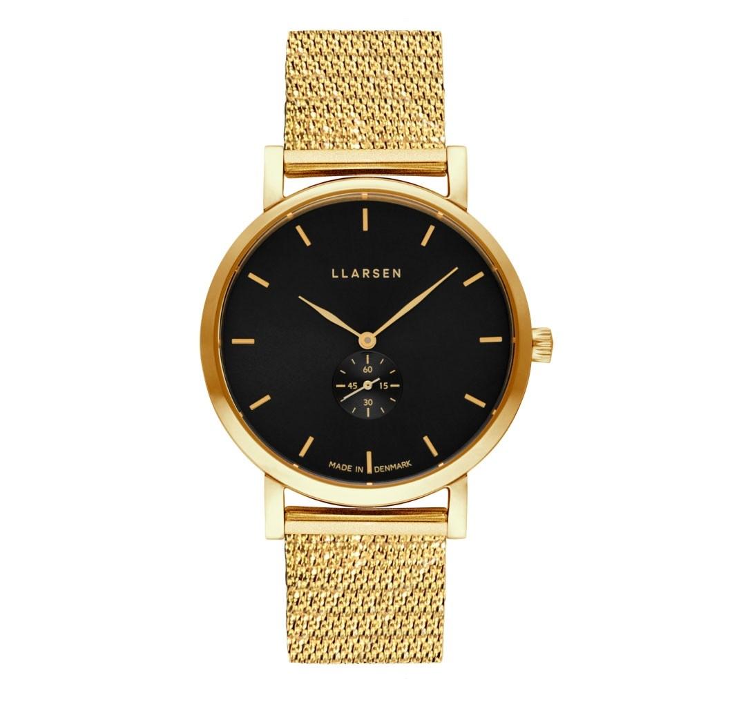 LLARSEN JOSEPHINE Gold Watch Shine