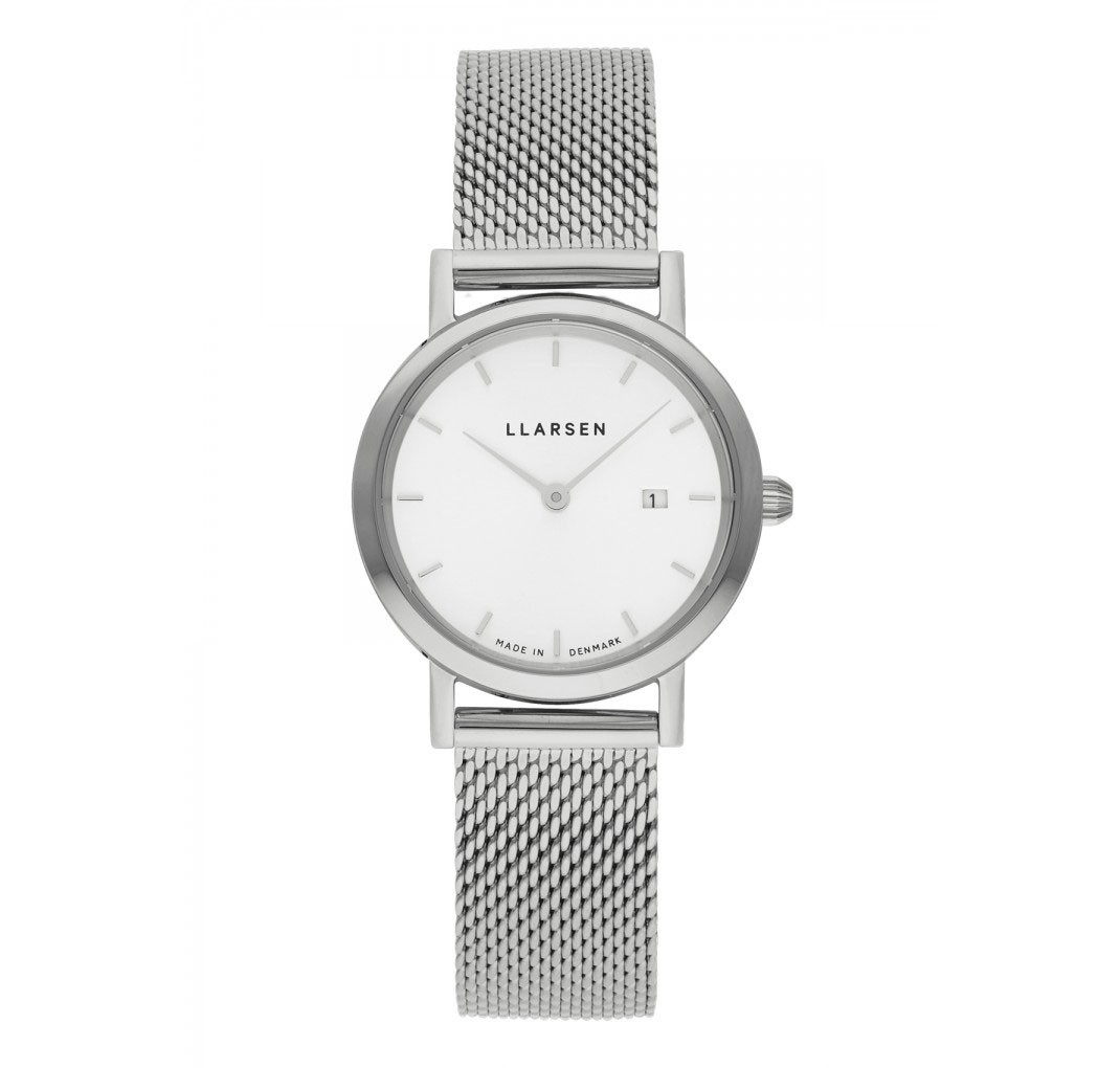 LLARSEN REGITZE Steel Watch Steel Bracelet