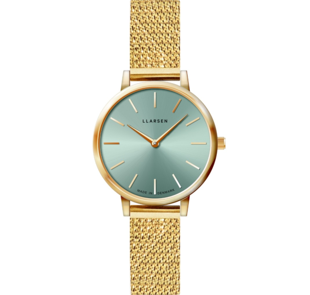 LLARSEN CAROLINE Watch Shiny Gold