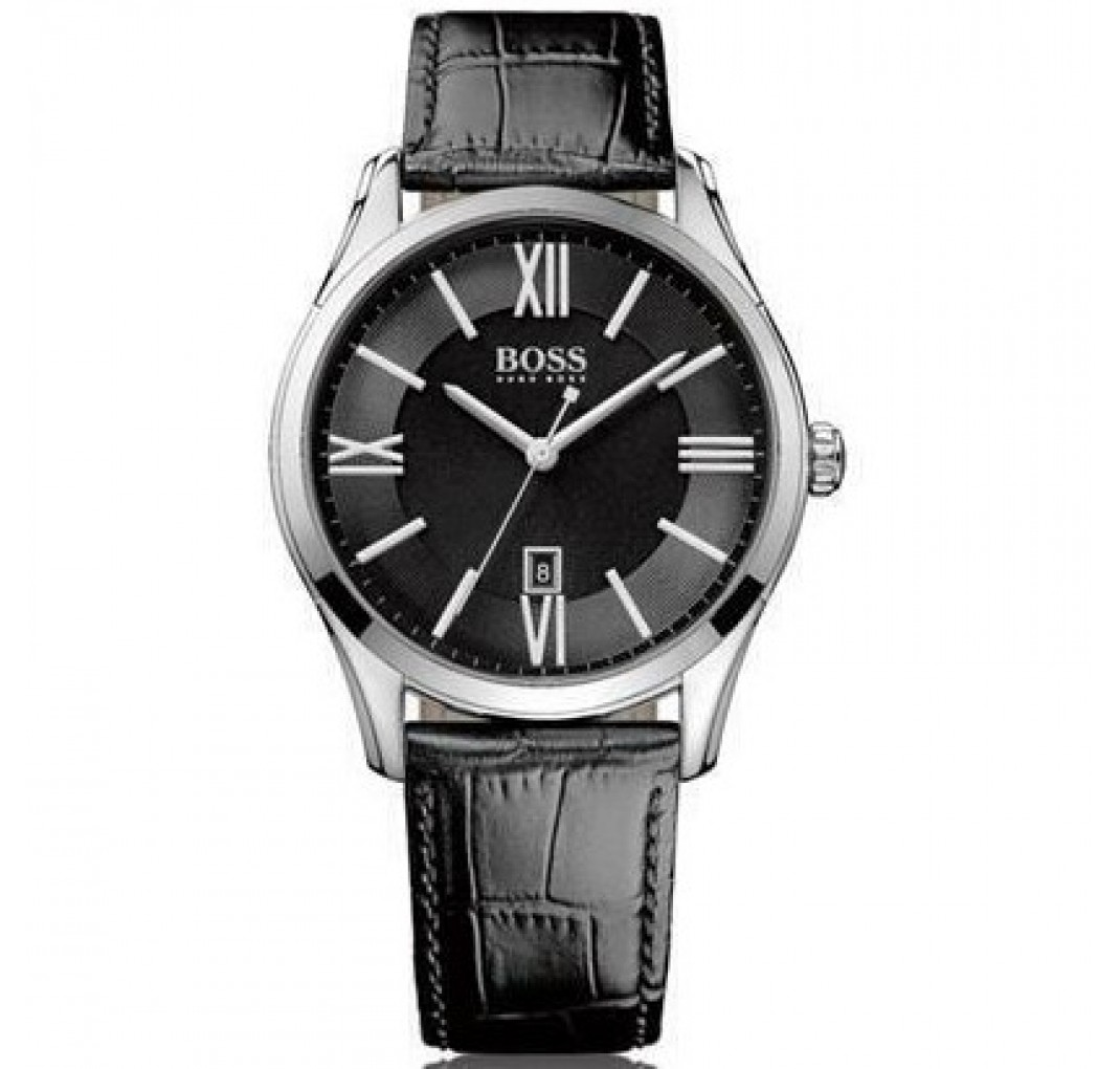 HUGO BOSS Ambassador Black Watch