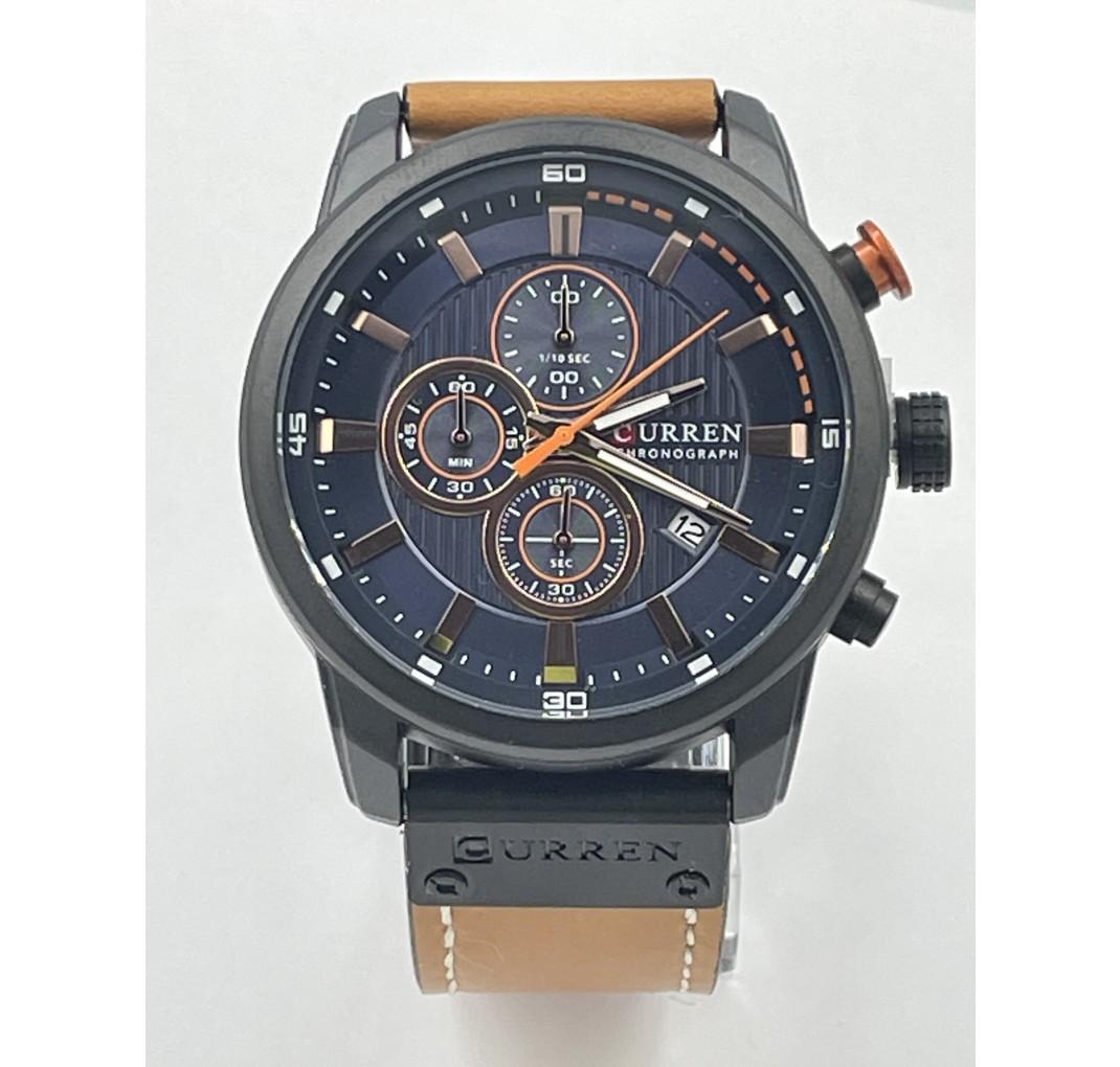 CURREN Chronograph model 8291 Cognac