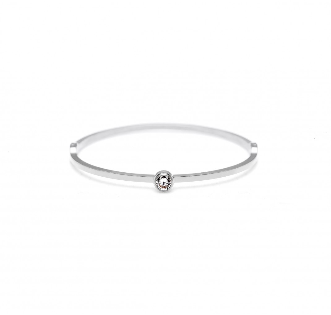 DAISY GRACE BANGLE SILVER