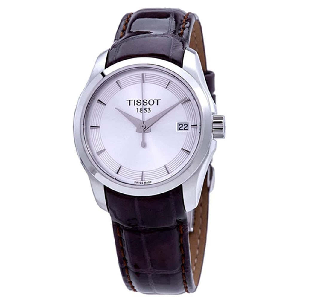 TISSOT Couturier Quartz Brown