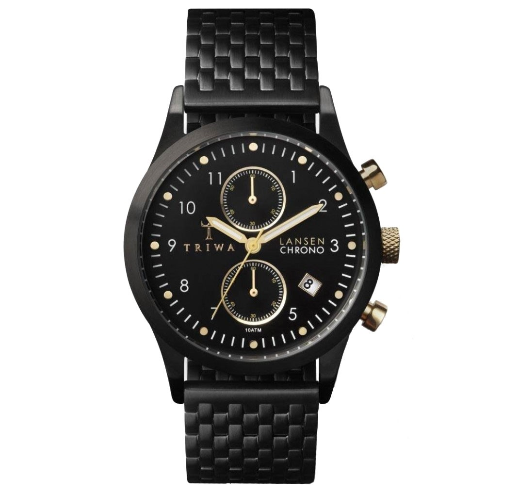 TRIWA MIDNIGHT LANSEN CHRONO