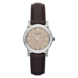 """BURBERRY """"The City"""" Brown Leather BU9208"""