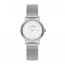 LLARSEN REGITZE Steel Watch Steel Bracelet