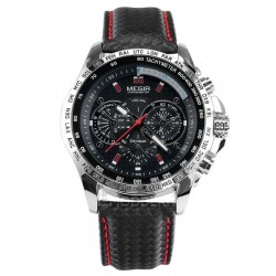 MEGIR Chronograf Sportsur M1010 Black