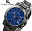 "BURBERRY ""The city"" Black Ion Chronograph BU9365"