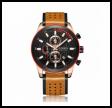 Curren Herreur model 8292 Chronograf med messing urkasse