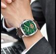 PAGANI DESIGN Skeleton ur med grøn urskive - PD2769