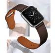 CarloA Apple Watch Coal Black læderrem 38/40 mm