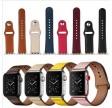 CarloA Apple Watch Dark Red læderrem 42/44 mm