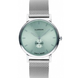 LLARSEN JOSEPHINE Steel Watch Shine Green