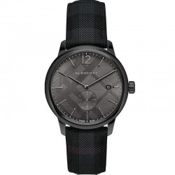 BURBERRY City Black Leather BU10010