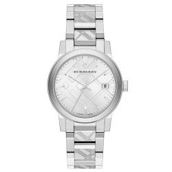 "BURBERRY ""The City"" Silver BU9037"