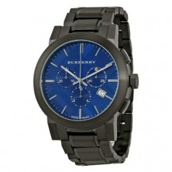 "BURBERRY ""The city"" Black Ion Chronograph BU9365"