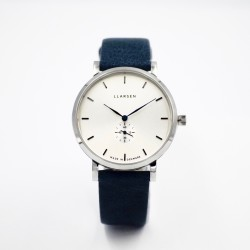LLARSEN JOSEPHINE Steel Watch Ocean Leather