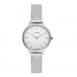 LLARSEN CAROLINE Watch Shiny Steel