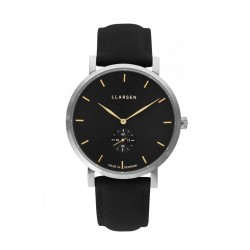 LLARSEN NIKOLAJ Steel Coal Leather